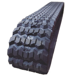 One Rubber Track For Case Tr320 450x86x55 Zig Zag Tread 18 Wide