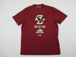 Boston College Eagles Under Armour Short Sleeve Shirt Men#x27;s Used Multiple Sizes
