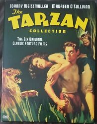 The Tarzan Collection Starring Johnny Weissmuller Dvd 2004 4-disc