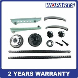 Timing Chain Kit Fit For 05-10 Ford Explorer F-150 Mustang 4.6l Triton 3-valve