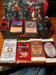 Magic Random Booster Packs X4 Vintage Included Mox Underground Sea Silver
