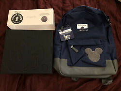 Disney Store 30th Anniversary Complete Set Of 30 Pins + Jiminy Backpack And Pin
