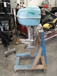 Very Nice Mercury Wizard 20hp 200 Outboard W/racing Lower Unit Quickie Q Tower