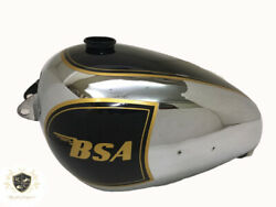Bsa A7 Plunger Model Chrome And Black Painted Petrol Tank Fit For