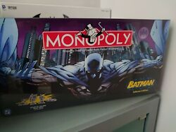 Batman Monopoly Collectors Edition Pewter Tokens Rare Collectible Factory Sealed