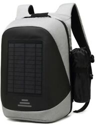 Solar Powered Backpack For Business Students Stylish Laptop Bag. Fast Shipping $69.00