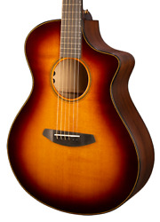 Breedlove Oregon Concert Ce Acoustic/electric | Whiskey Burst Free Gift