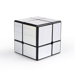 QiYi Mirror Cube 2x2 Unequal Magic Cube Speed Puzzle Educational Toys Gift