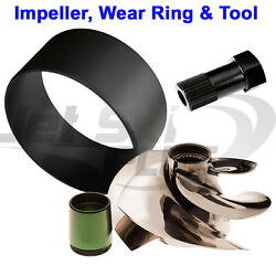 Solas Srz 13/18 Impeller Seadoo 2009-up Rxp Rxt Gtx 215 Hp W/ Wear Ring And Tool