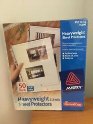 Avery Heavyweight Sheet Protectors 50-pack 74106 New In Pkg Original Owner