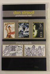 Don Stroud Professional Reel Editing Dvd Storyboards Avid, Imageready 159a