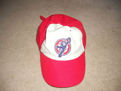 South Bend Cubs Minor League Hat Cap Chicago Cubs Afflilate Sga Red Two Tone  A