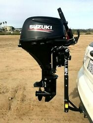 New Pro Heavy Duty Outboard Hitch, Mount, Stand, Kicker For 2.5-35hp No Motor