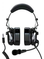 Faro G2 Anr Helicopter Headset With Coiled Helicopter Plug Mp3/audio Compatible