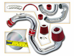 2.75 Red Cold Air Intake Race System + Filter For 04-09 Mazda3 3 2.0l/2.3l L4