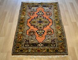 Museum Rare Antique Collector Handmade Konya Obruk Rug Turkey 3and039 X 5and039