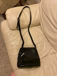 LongChamp Crossbody Leather Bag Shoulder Messenger Purse w chaffing ware $9.99