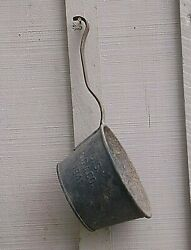 Vintage Wwii 1941 Us S.g.a. Co. Military Metal Water Dipper Or Ladle Field Gear