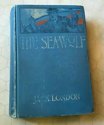 Jack London The Sea Wolf True 1st Ed First Print 1904 Macmillan Hb Gilt Top Edge