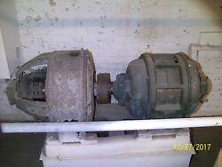 Western Electric 35kw Dc Generator With 50 Hp Induction Motor From Elevator