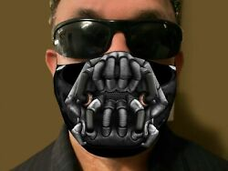 BANE movie style Cloth Face Mask 3D