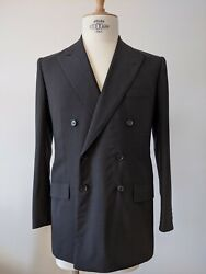 Hermandegraves By Cifonelli Bespoke Double Breasted Jacket - Like New