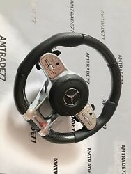 Mercedes Benz Carbon Steering Wheel New Amg Style G Class Gl Ml W463 G63 W464