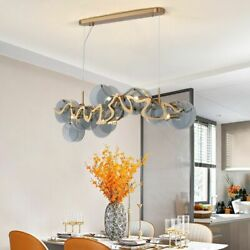 Contemporary Glass Chandelier Lights Modern Clear Crystals With Led E14 Bulb New