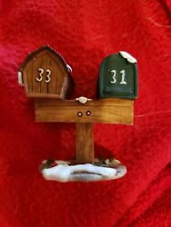 Holiday Time Collection Mailboxes 33 And 31 O'well, Fits Lemax, Dept. 18