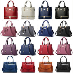 Women Lady Leather Handbag Shoulder Bag Crossbody Satchel Messenger Purse Tote $21.89