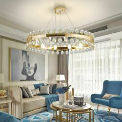 Crown Crystal Chandelier Lights With E14 Led Perfect For Villa Living Room Lamps