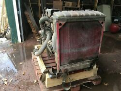 Engine Transmission And Radiator For 2-1/2 Ton Truck. M35 Reo Multifuel. Used.
