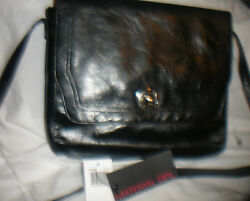 Material Girl Cross body Purse Vegan Faux Leather NWT