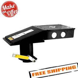 Popup Industries Rv4xl Kingpin To Gooseneck 9 Offset Adapter For Flatbed Trucks