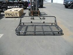 Hummer H1 Humvee Bed Cover / Rack Cargo Basket Rack With Lights Free Shipping
