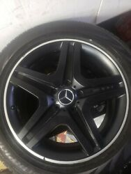 20andrdquo Mercedes G63 G65 G Wagon Factory Oem Wheels Rims And Tires Amg Black G Wagen