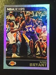 2014-15 NBA Hoops Kobe Bryant Silver Holo Parallel SP #'d 142399