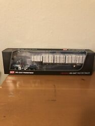 Dcp Blank Kw T800 Semi Cab Truck Pvc Pipe Load Step Deck Trailer 164 Farm Toy