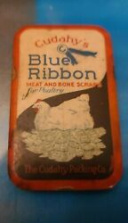 Vintage Cudahy's Blue Ribbon Poultry Feeds Knife Stone Sharpener