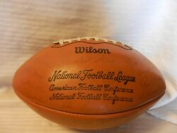 Green Bay Packers Printed Team Signatures Wilson Football From 1970s Starr, More