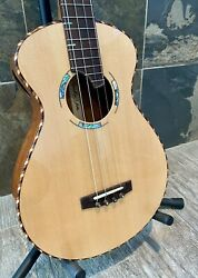 Barron River Treasure Tones Baritone Ukulele 21.5 Scale Mini Pickup Ohsc 321