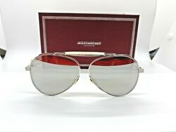 Brand new Never worn Jacques Marie Mage (JMM) GERONIMO Silver mirror Sunglasses