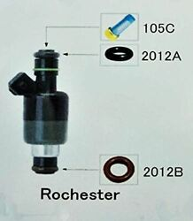 Fuel Injector Repair Kit Diy Rochester With Optional Filter Removal Tool