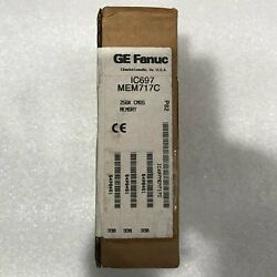 1pc New For Ge Fanuc Ic697mem717c In Box Free Shippingqw