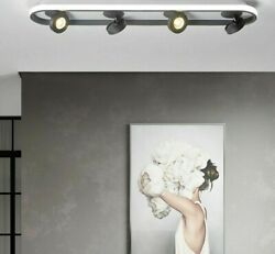Fixture Ceiling Lights Black Metal Body Simple Porch Cloakroom Iron Led Lighting
