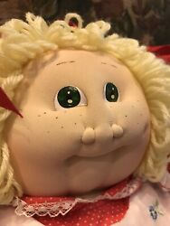 Original 1984 Signed Soft Xavier Roberts Cabbage Patch Hester Libby Doll