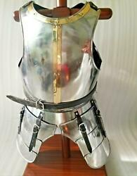 Medieval Steel Breast Plate Ancient Muscle Armor Nautical Costume Collectible