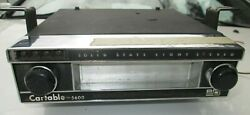 Vintage 1960s - 1970s Cartable 5600 8 Track Car Stereo Eight Track Tape Player