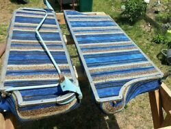 1957 Chevy Bel Air Nomad Rear Seat , Complete. 55-57 Tri Five Wagon