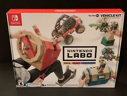 Nintendo Switch Labo Toy-con 03 Vehicle Kit Brand New-free Shipping